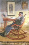 Carl Larsson My Father,Olof Larsson oil painting