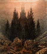 Caspar David Friedrich The Cross in the Mountains oil painting reproduction