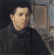 Diego Rivera Self-Portrait oil painting