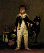 Francisco de goya y Lucientes Pepito Costa y Bonells oil painting reproduction