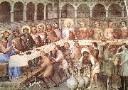 GIUSTO de  Menabuoi Marriage at Cana oil painting