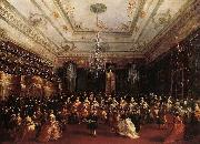 GUARDI, Francesco Ladies Concert at the Philharmonic Hall oil painting