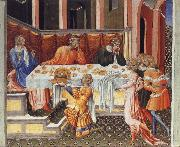 Giovanni di Paolo The Feast of Herod oil painting
