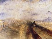 Joseph Mallord William Turner Rain,Steam and Speed The Great Western Railway oil painting reproduction