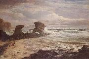 Louis Buvelot Childers Cove oil painting