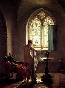 MALLET, Jean-Baptiste Gothic Bathroom oil painting reproduction