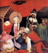 Master Francke Adoration of the Magi oil painting reproduction