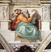 Michelangelo Buonarroti Zechariah oil painting reproduction