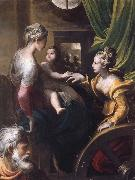 PARMIGIANINO The Mystic Marriage of Saint Catherine oil painting