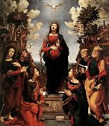 Piero di Cosimo Immaculate Conception with Saints oil painting