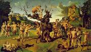 Piero di Cosimo The Discovery of Honey oil painting