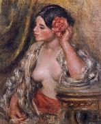 Pierre-Auguste Renoir Gabrielle a Sa Coiffure oil painting reproduction
