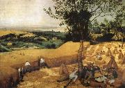 Pieter Bruegel The harvest oil painting