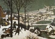 Pieter Bruegel Hunters in the snow oil painting reproduction