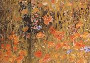 Robert William Vonnoh Poppies oil painting