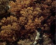 Thomas Gainsborough Detail of Landscape with a Peasant on a path oil painting reproduction