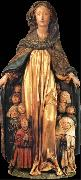 unknow artist The Madonna of the cloak of proteccion oil painting reproduction