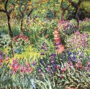 Claude Monet The Artist-s Garden at Giverny oil painting reproduction