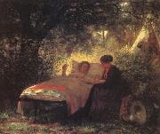 Eastman Johnson The Letter Home oil painting