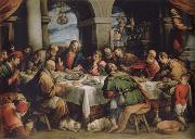 Francesco Bassano the younger The communion oil painting reproduction