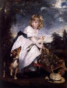 Sir Joshua Reynolds Master Henry Hoare as The Young Gardener oil painting