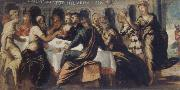 Tintoretto The festival of the Belschazzar oil painting reproduction