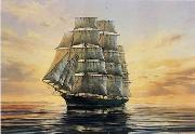 unknow artist Seascape, boats, ships and warships. 110 oil painting reproduction