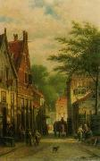 unknow artist European city landscape, street landsacpe, construction, frontstore, building and architecture. 319 oil painting reproduction