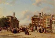 unknow artist European city landscape, street landsacpe, construction, frontstore, building and architecture. 323 oil painting reproduction