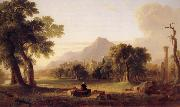 Asher Brown Durand The Evening of Life oil painting
