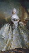 Carl Gustaf Pilo Queen Louise oil painting