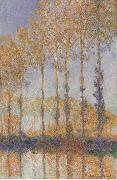 Claude Monet Poplars on the banks of the EPTE oil painting reproduction