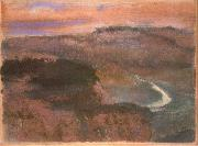 Edgar Degas Landscape oil painting reproduction