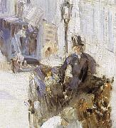 Edouard Manet Detail of Roadman on Belli Road oil painting reproduction