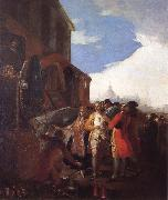 Francisco Goya Fair of Madrid oil painting reproduction