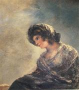 Francisco Goya The Milkmaid oil painting reproduction