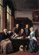 HOREMANS, Jan Jozef II The Marriage Contract oil painting reproduction