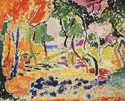 Henri Matisse Landscape oil painting reproduction