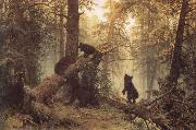 Ivan Shishkin Morning in a Pine Forest oil painting