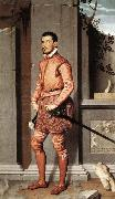 MORONI, Giovanni Battista The Gentleman in Pink oil painting reproduction