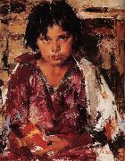 Nikolay Fechin Girl oil painting reproduction
