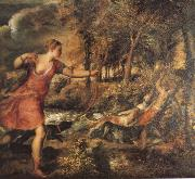 TIZIANO Vecellio The Death of AikedeAn oil painting reproduction