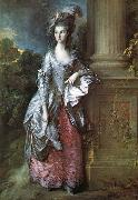 Thomas Gainsborough The Honourable mas graham mars Graham was one of the many society beauties Gainsborough painted in order to make a living oil painting reproduction