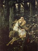 Viktor Vasnetsov Ivan the Tsarevich Riding the Grey Wolf oil painting