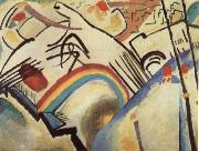 Wassily Kandinsky Fragment for Composition IV oil painting