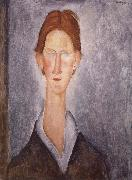 Amedeo Modigliani Young man oil painting reproduction