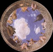 Andrea Mantegna Detail of Ceiling from the Camera degli Sposi oil painting reproduction