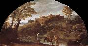 Annibale Carracci Escape to Egypt oil painting