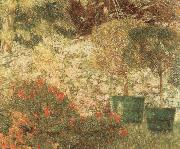 Emile Claus A Corner of my Garden oil painting