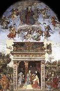 Filippino Lippi Assumption and Annunciation oil painting